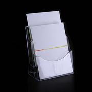 SCP CX022 亞克力A5兩層展示架資料盒單頁盒 20*16*10cm