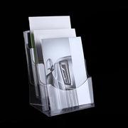SCP CX027 亞克力A4三層單頁盒展示架資料盒 3層