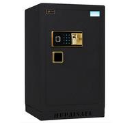 虎牌 BGX-ZH-80Z 指纹电子保管箱JY-80 800mm*475mm*445mm 黑色 电子密码+指纹锁锁 安全 防盗