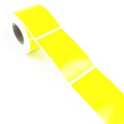 桥兴 BC-6038 资产标签(手持机用) 60mm*38mm 黄色 250张/卷