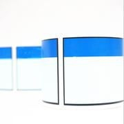 桥兴 BC-6038 资产标签 60mm*38mm,可订制 蓝白色 250张/卷