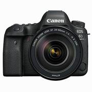 佳能 EOS6D 照相机套机  黑色  MarkII EF24-105mm f/4L IS USM  (广角镜头套装+包+清洁套装)
