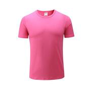 國產 YPS-002 短袖T恤-多色 均碼 玫紅色  圖案可定制