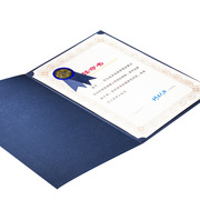 国产  定制 荣誉证书 21cm*28cm 红色