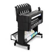 惠普 DesignJet T1530(L2Y24A) 绘图仪 6色36英寸打印机 标准 黑色