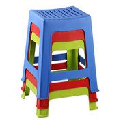 SCP CX120 加厚防滑塑料凳(起訂量40) 28*25*44cm 隨機色