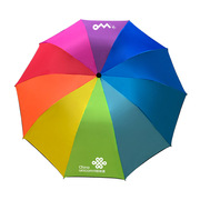 SCP CX127 10K三折彩虹傘(起訂量200) 65cm*10K 隨機色