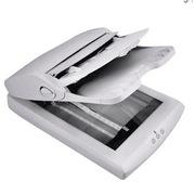 中晶 FS2500 扫描仪 A4 白色  (商业应用平板式+馈纸式)