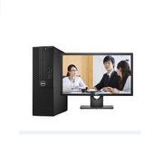 戴尔 3050SFF 台式电脑套机 I5-75008G128GSSD集显WIN10P3Y 黑色  含500G机械硬盘,无线蓝牙,含E2418HN 显示器