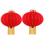 国产  定制灯笼(图案随机)(起订量:1个) 直径40cm 大红色