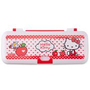 广博 KT85054 两层文具盒/铅笔盒学习用品 凯蒂猫款式随机 单个装