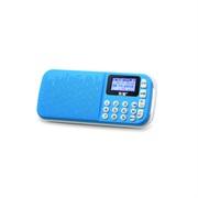 * 索愛 S-138 錄放音機 TF卡 插卡音箱 頻響范圍100 Hz--18 KHz 寶石藍