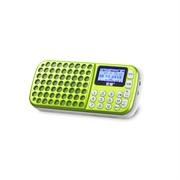 * 索愛 S-138 錄放音機 TF卡 插卡音箱 頻響范圍100 Hz--18 KHz 綠色