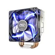 * 玄冰400 九州风神散热器 多平台/支持AM4/4热管/发蓝光/12CM风扇/附带硅脂 黑色