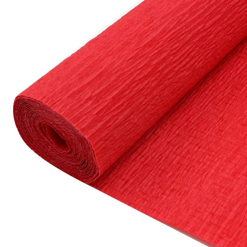 元浩  皱纹纸 10卷/包 红色