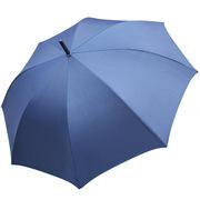 德維萊 DWL-536 纖維骨002直桿銀膠晴雨傘 60CM×8K 藍色