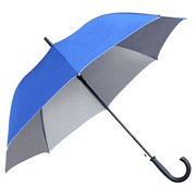 德維萊 DWL-537 雙骨003直桿晴銀膠雨傘 60CM×8K 藍色