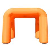 德维莱 DWL-021 充气方形双拱门 12M 橙色