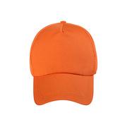 德維萊 DWL-065 純棉網格太陽帽 廣告帽鴨舌帽子棒球帽  橙色