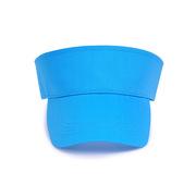 德維萊 DWL-066 全棉空頂帽 遮陽帽太陽帽廣告帽  藍色