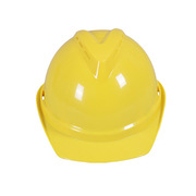 德维莱 DWL-111 透气V字型安全帽  黄色