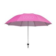 史泰博  晴雨傘 21英寸 玫紅色