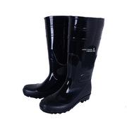 德维莱 DWL-307 PVC加绒款雨鞋 39-44码 黑色