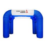 德維萊 DWL-220 充氣方形雙拱門 12M 藍色