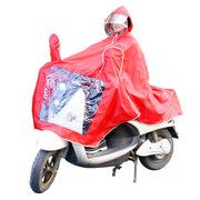 德維萊 DWL-321 電動車雨衣 3XL/4XL 紅色