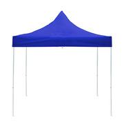 德维莱 DWL-625 18kg户外伸缩折叠架 篷布过PVC 防雨防晒雨棚 3×3M 蓝色