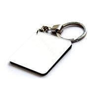 德维莱 DWL-724 亚克力钥匙扣 35×35MM 白色