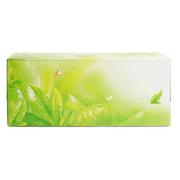 德维莱 DWL-717 盒装餐巾纸200抽 22×12×8CM 绿色
