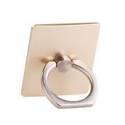 德维莱 DWL-723 全金属锌合金大号指环扣 35×40MM 金色