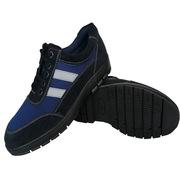 百集 絕緣鞋(含logo) 46碼 藍黑色