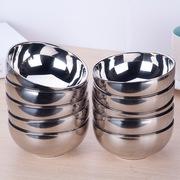 美廚  雙層不銹鋼防燙湯碗 10個套裝 13cm