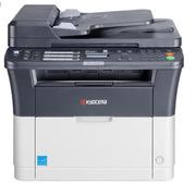 京瓷 FS-1125MFP 黑白激光打印/复印/扫描、传真,自动双面,有线网络多功能一体机 A4幅面 黑白色 纸箱 打印/复印/扫描、传真,A4幅面,自动双面,有线网络