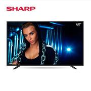 夏普 LCD-60TX7008A 电视 60寸电视 黑色 纸箱 智能电视、带操作?#20302;矨NDROID