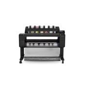 惠普 T1530 打印机绘图仪 120kg   双卷筒36英寸、6色打印机:专业级CAD和GIS专用
