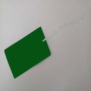 國產 300克銅版紙  長方形綠色 定制標簽紙  長方形綠色 118*70mm 300克銅版紙 118*70mm