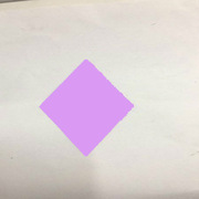 國產 300克銅版紙  菱形淺紫色 定制標簽紙  菱形淺紫色   300克銅版紙 118*70mm