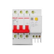 DELIXI DZ47sLE 3P+N C  63A 漏電斷路器   漏電斷路器*1