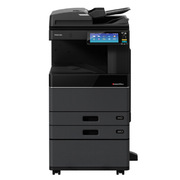 东芝 2505AC 彩色数码复印机 含自动双面送稿器、双面器、双纸盒、工作台