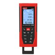 優利德 UT398A 激光測距儀 144mm*59mm*30mm 紅色 測距儀、攜帶包、充電電池、掛繩、目標反射板、說明書 UT398A是一款量程200m、精度±1.5mm、面向專業用戶的高精度專業激光測距儀。采用測距儀操作系統,生動的彩色界面、友好的交互操作,專業的測量功能,豐富的輔助功能,獨具匠