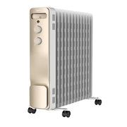 美的 NY2213-18GW 取暖器 家用   13片油丁電暖氣暖爐電熱暖風機油汀