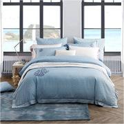 罗莱  四件套提花床品套件床上用品床单被套 200*230cm海洋假日