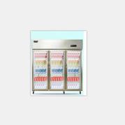 澳柯玛  1300升 立式三门玻璃门冰柜 标准