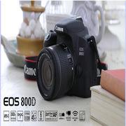 佳能 EOS 800D 单反 套机    配相机包,16G存储卡,?#20302;?#24067;,屏幕膜。