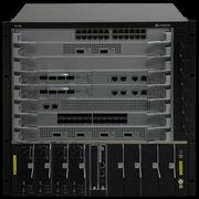 华为 S7706 核心交换机    交换容量:19.84/86.4T bps 包转发率:2880/26400M pps
