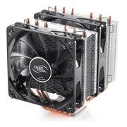 九州风神 大霜塔 CPU散热器    (双塔/风冷/支持AM4/2066/多平台/6热管/双LED风扇/附带硅脂)