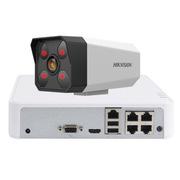 海康威视 DS-IPC-B12-I 星光级高清摄像头 1路,200万像素+1TB硬盘
